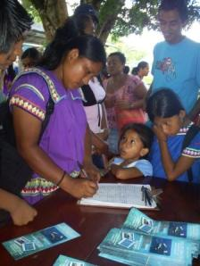 It's not just surfers involved in stopping the tuna farms. The indigenous Guaymi signed a petition against the project