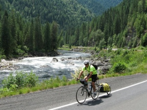 DiMaggio on his 2010 ride