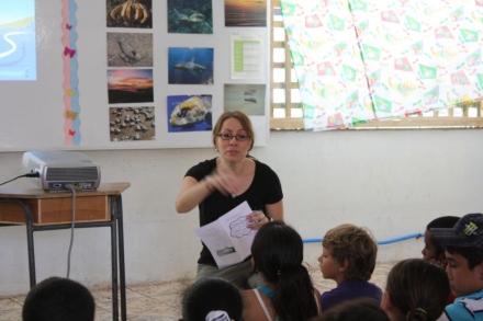 Ingrid teaching